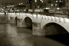 Neuf bridge, Paris Royalty Free Stock Photo