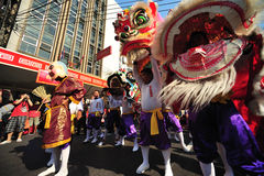 an neuf chinois de Bangkok Images libres de droits