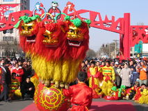 An neuf chinois de célébration Photo stock