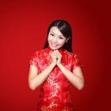 An neuf chinois heureux Images libres de droits