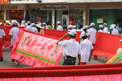 An neuf chinois, Thaïlande. Photographie stock