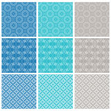 Neuf configuration élégante de textile ou de papier peint Images stock