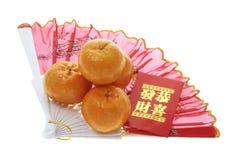an neuf de décorations chinoises Photographie stock