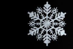an neuf de flocon de neige de la décoration s de Noël de fond Image stock