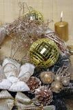 an neuf de la décoration s de Noël Images libres de droits