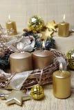 an neuf de la décoration s de Noël d'american national standard Images libres de droits