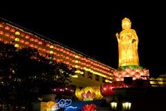 an neuf de lanternes chinoises Photographie stock libre de droits