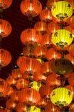 an neuf de lanternes chinoises Photographie stock