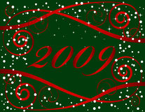 an neuf de Noël de fond Photographie stock libre de droits