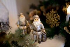 An neuf de Santa Photos libres de droits