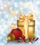 an neuf de vecteur d'image heureuse générée par ordinateur de Noël de fond joyeux Photos libres de droits