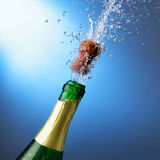 an neuf du champagne s Photos libres de droits