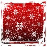 an neuf du rouge s de Noël de fond Image libre de droits