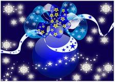 An neuf et Noël Image libre de droits
