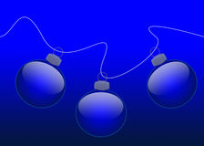 An neuf et Noël Images stock