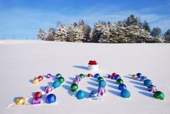 An neuf heureux 2011 Image libre de droits