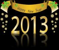 An neuf heureux 2013 Image libre de droits
