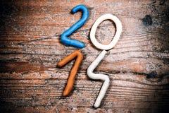 An neuf heureux 2014 Image libre de droits