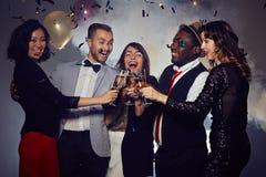 An neuf heureux ! Photo libre de droits
