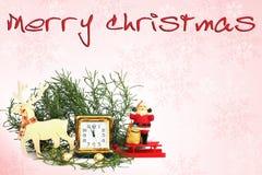 An neuf heureux Composition de Noël photos stock