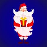 An neuf heureux de Joyeux Noël Photos stock