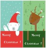 an neuf heureux de Noël joyeux Photographie stock libre de droits