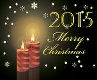 an neuf heureux de Noël joyeux Photos stock
