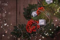 an neuf heureux de Noël joyeux Fond Photographie stock
