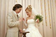 Neuf-marié images libres de droits