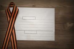 9 neuf peuvent fond de concept de jour de victoire avec l'espace de copie Photo stock