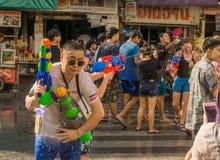 An neuf thaï - Songkran Image libre de droits