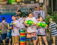 An neuf thaï - Songkran Photographie stock