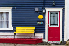 Neufundland-Eingänge stockbild