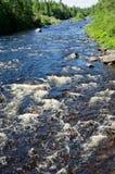 Neufundland-Fluss stockbilder