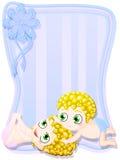 Neugeborene Zwillinge Lizenzfreies Stockfoto