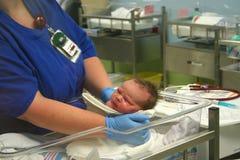 Neugeborener Junge 1 Lizenzfreie Stockbilder