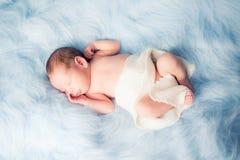 Neugeborener Nathan Lizenzfreie Stockbilder