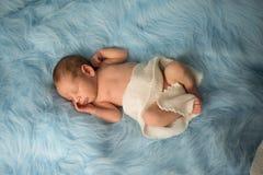 Neugeborener Nathan Lizenzfreies Stockfoto