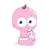 Neugeborenes Baby lizenzfreie abbildung