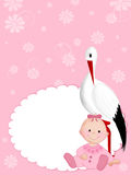 Neugeborenes Mädchen Lizenzfreies Stockbild