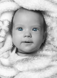 Neugeborenes Mädchen Stockbild