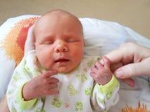 Neugeborenes Schätzchen stockbilder
