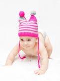 Neugeborenes Schätzchen Stockfotografie
