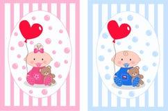 Neugeborenes Schätzchen lizenzfreie abbildung