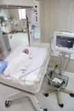 Neugeborenes Schätzchen Stockbild