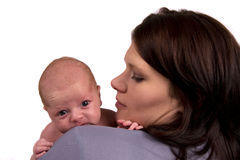 Neugeborenes Schauen Lizenzfreie Stockbilder