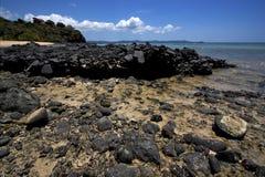 Neugierig seien Sie Felsen Stockfotografie