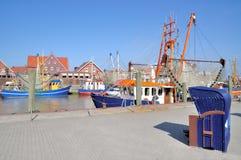 Neuharlingersiel,East Frisia,North Sea,Germany Royalty Free Stock Photos
