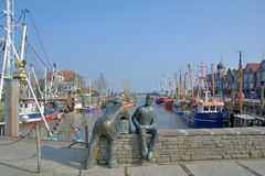 Neuharlingersiel,East Frisia,North Sea,Germany Royalty Free Stock Photos