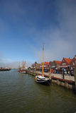 Neuharlingersiel-Hafen Stockfotos